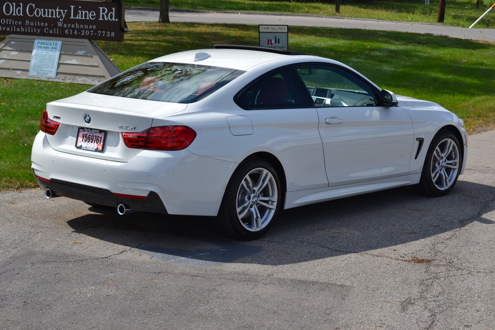 Delivery Photos 435i M Sport Xdrive Alpine White