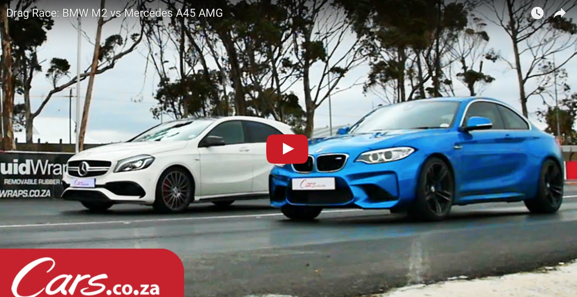 Drag Race: BMW M2 vs Mercedes A45 AMG