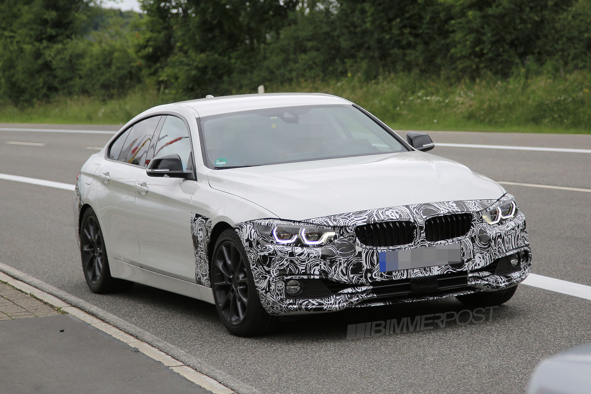 BMW 4 Series LCI Facelift First Sighting