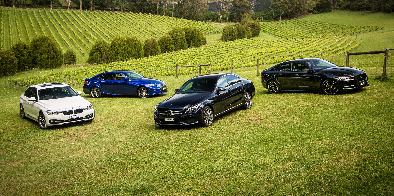 Bmw 330i Lci Vs Mercedes C250 Jaguar Xe25t R Sport And