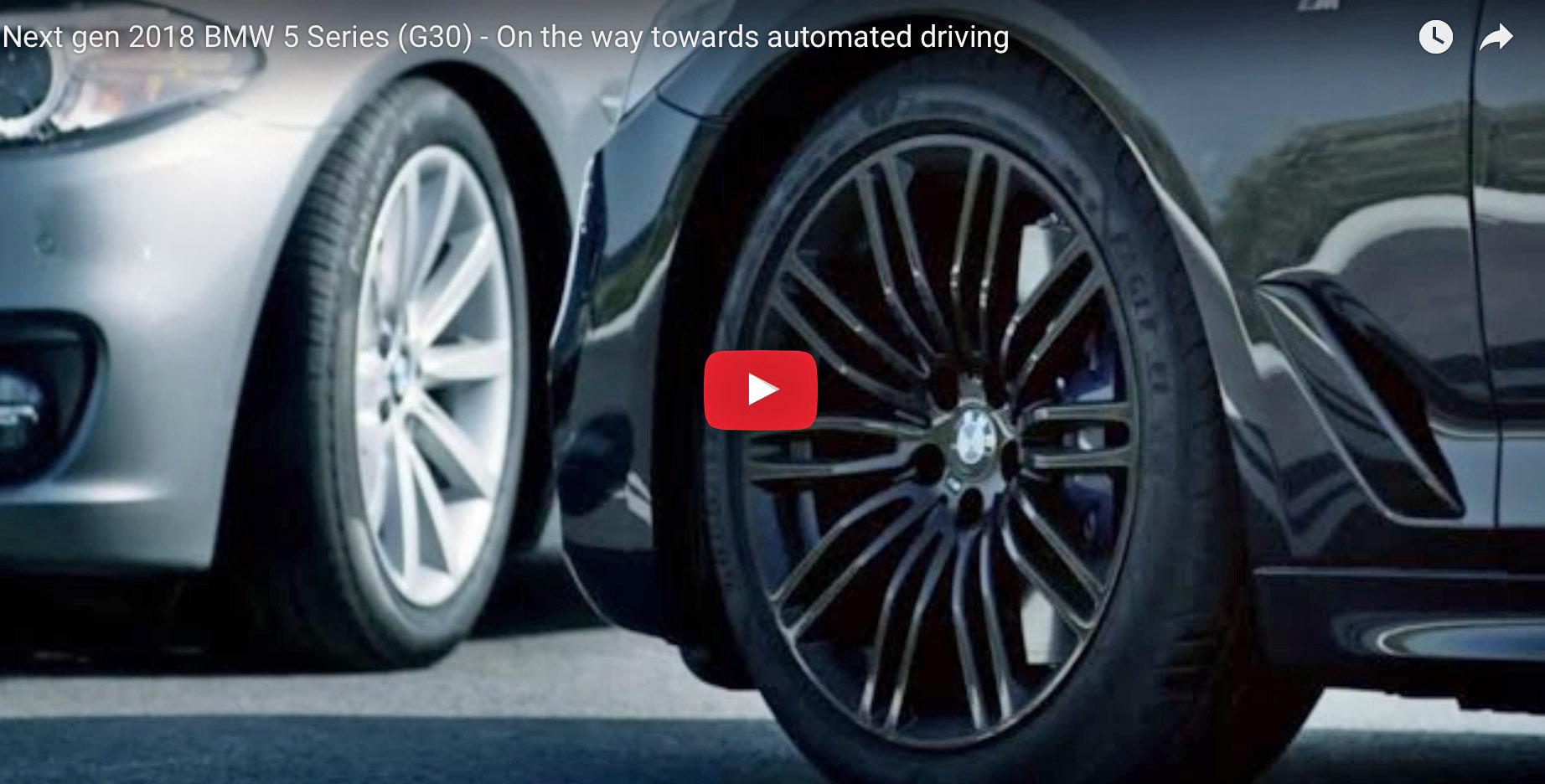 M Sport 5 Series G30 Partially Shown In Latest Teaser Video Page 3