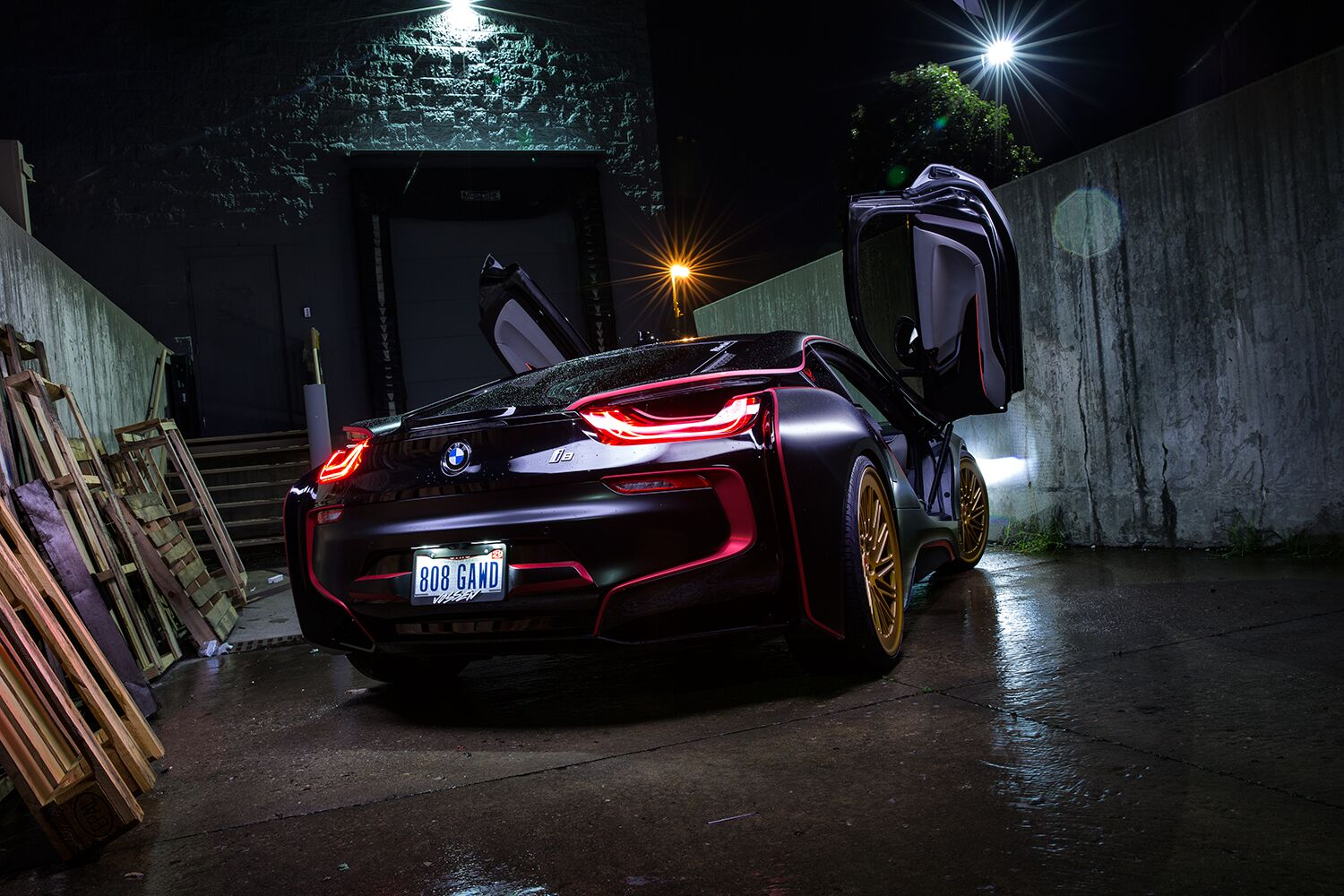 I8 The Death Star New Wrap