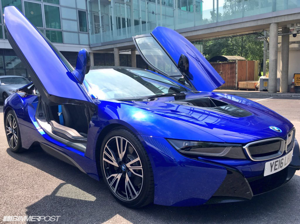 I8 San Marino Blue Just Wow
