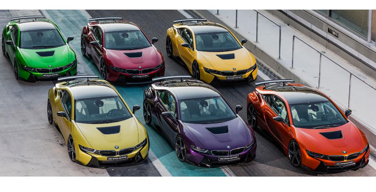 Abu Dhabi Bmw Offers Exclusive I8 Colors