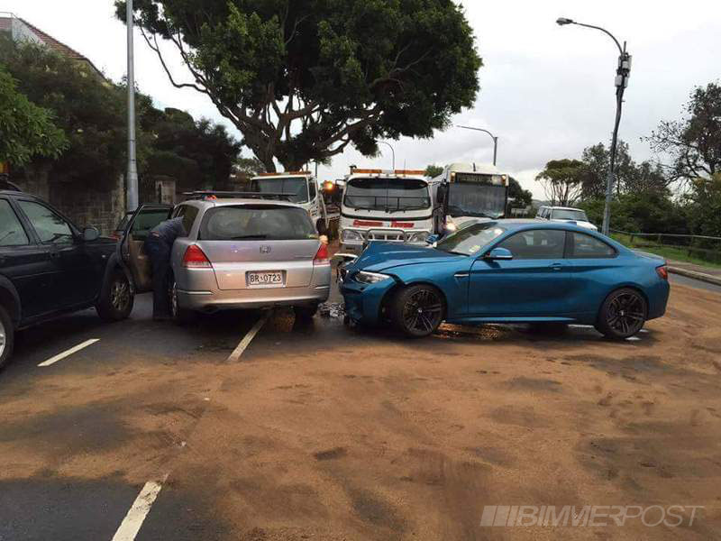 M2 Crashed In Oz