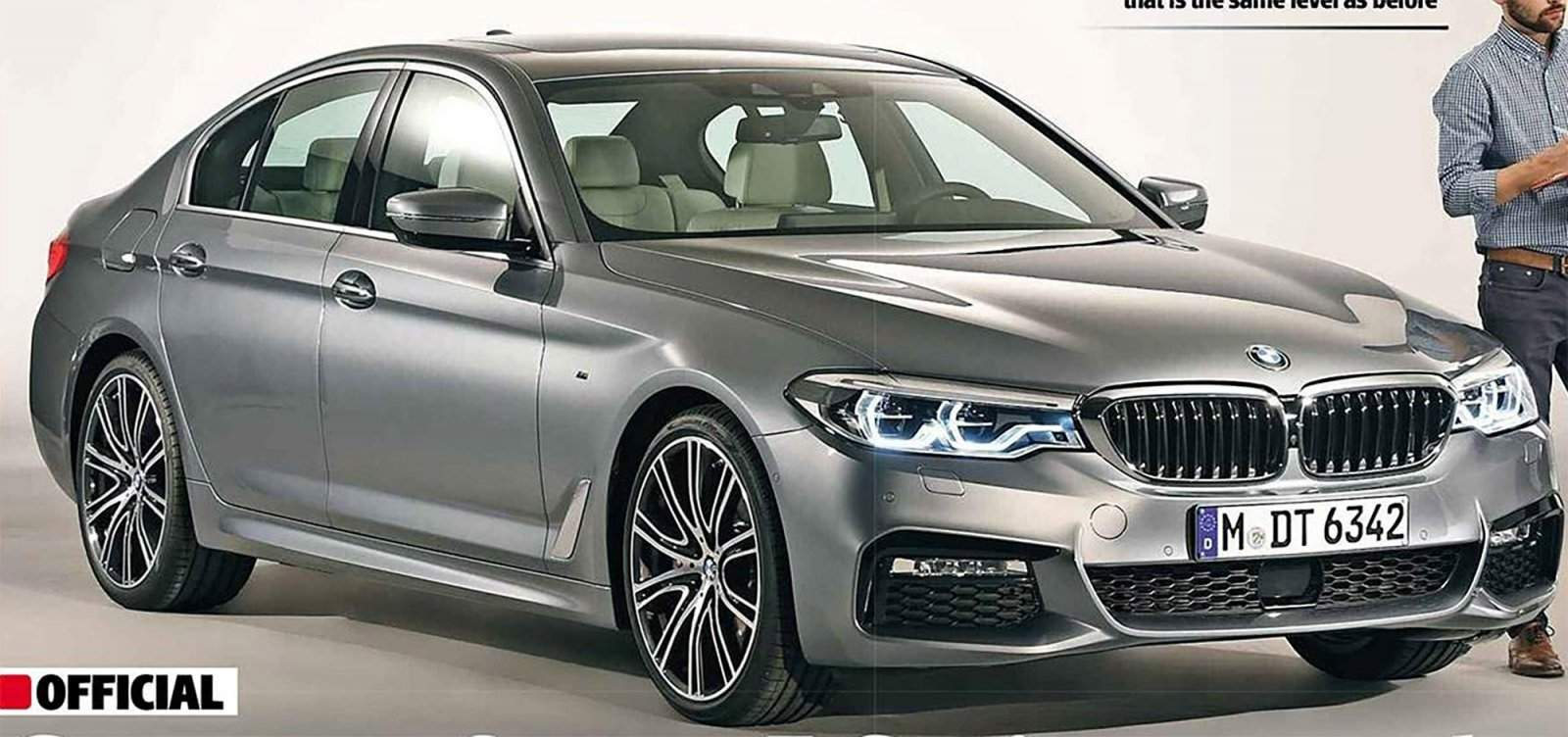 Leaked Images Of The New 5 Series G30