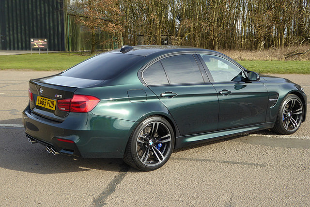 F80 M3 Oxford Green