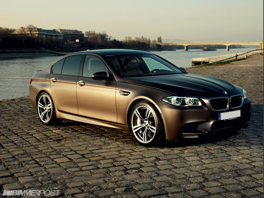 Bmw Individual Frozen Bronze M5 Competition W Nutmeg Interior