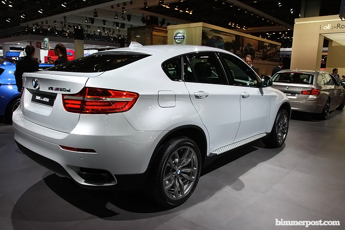 paris 2012 bmw x6 m50d individual. Black Bedroom Furniture Sets. Home Design Ideas