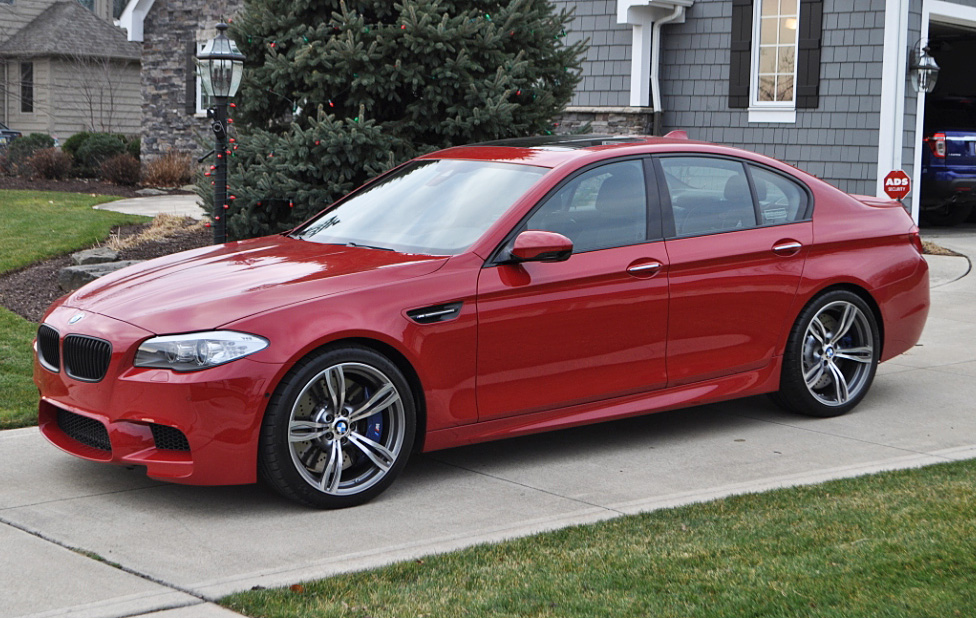 Imola Red F10 M5 Build