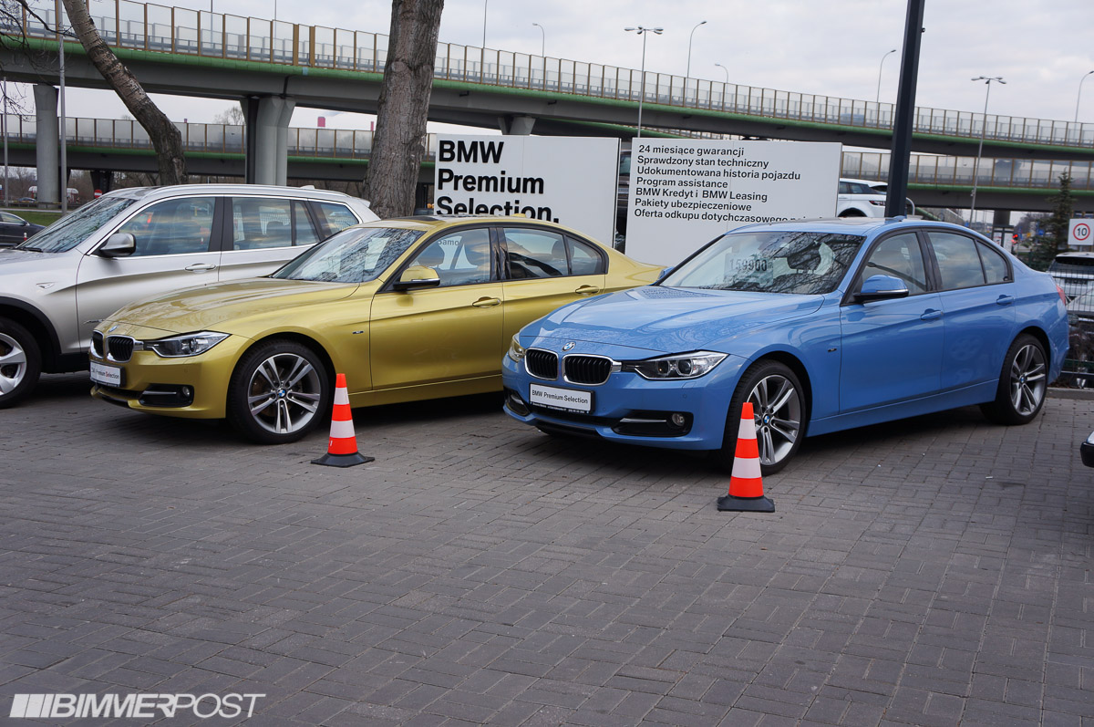 Bmw Individual F30 3 Series In Austin Yellow And Yas Marina Blue