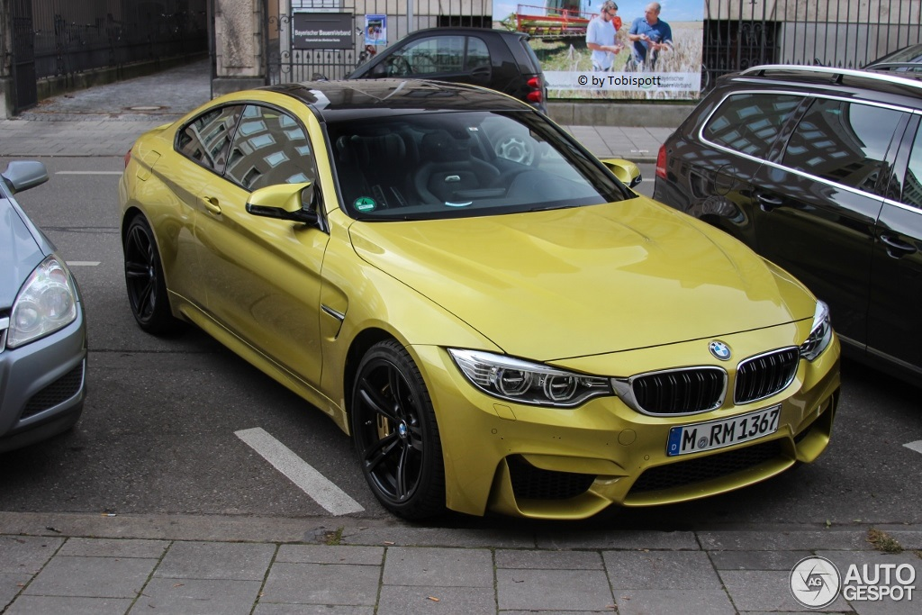 Austin Yellow Bmw M4 F82 Spotted In Wild