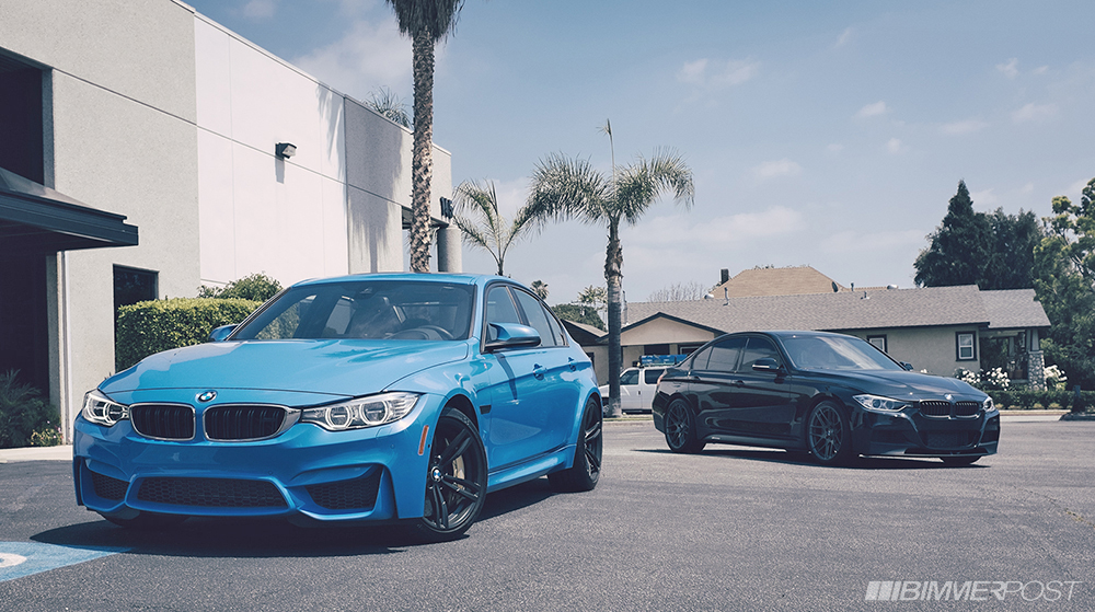 F80 M3 Amp F30 M Performance Guise Side By Side