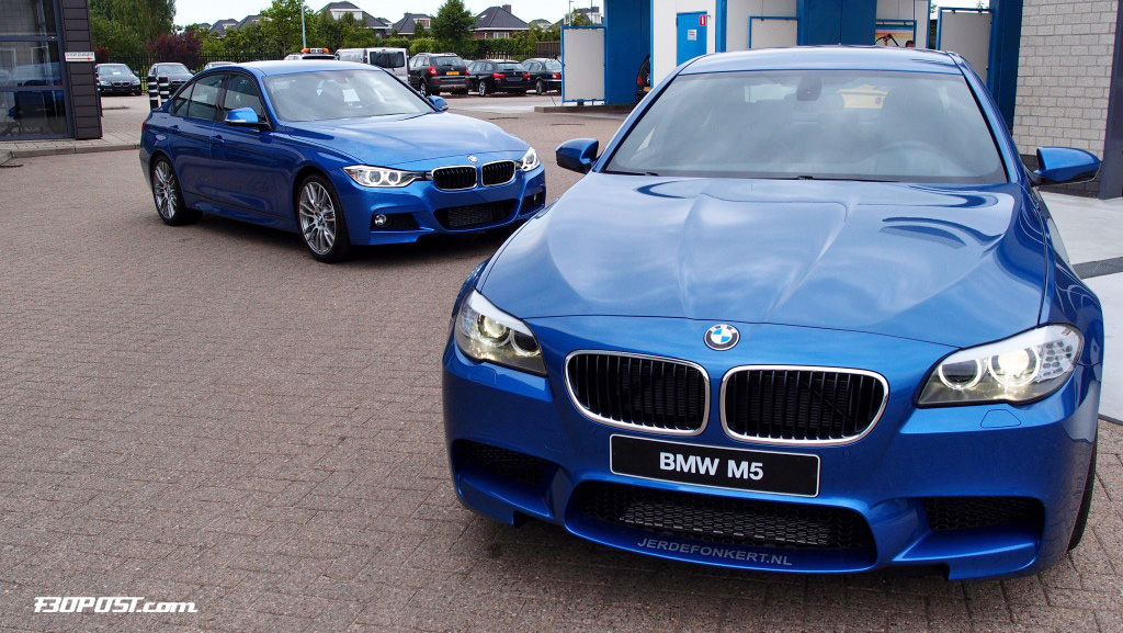 Bmw Blues Compared Estoril Blue Ii F30 Vs Monte Carlo
