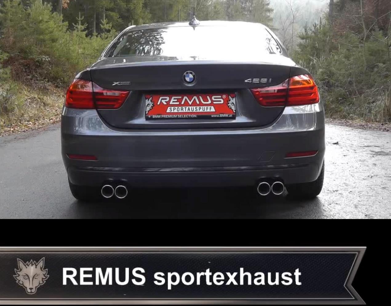 Remus F32 428i Exhaust Sound Video