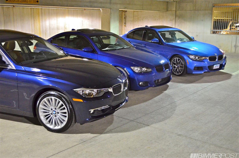 Triple Blue Bmw Photoshoot Estoril Blue Ii Vs Imperial Blue Vs Lemans Blue