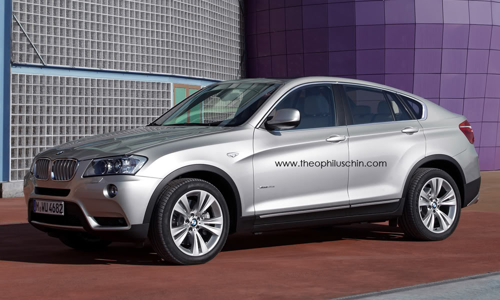 bmw x4 concept rumored for 2013 detroit naias debut. Black Bedroom Furniture Sets. Home Design Ideas