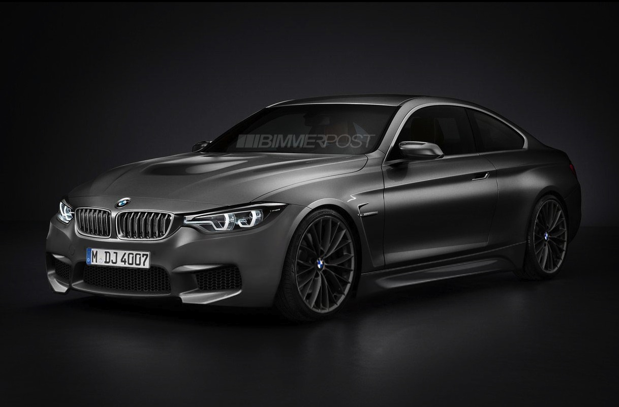 Bmw M4 Coupe F82 Imagined With M6 Bumper M3 Hood Bump