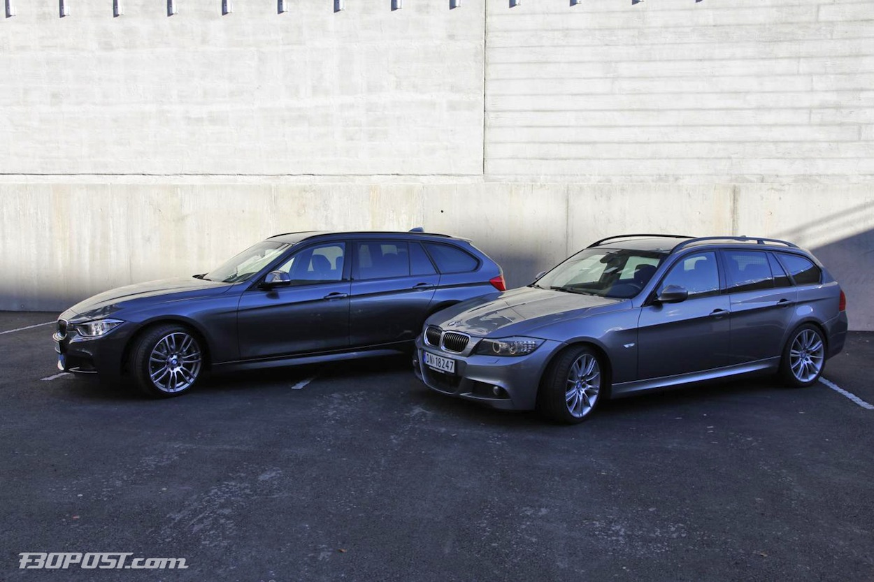 Goodbye E91 Welcome F31 Side By Side Comparison Pics