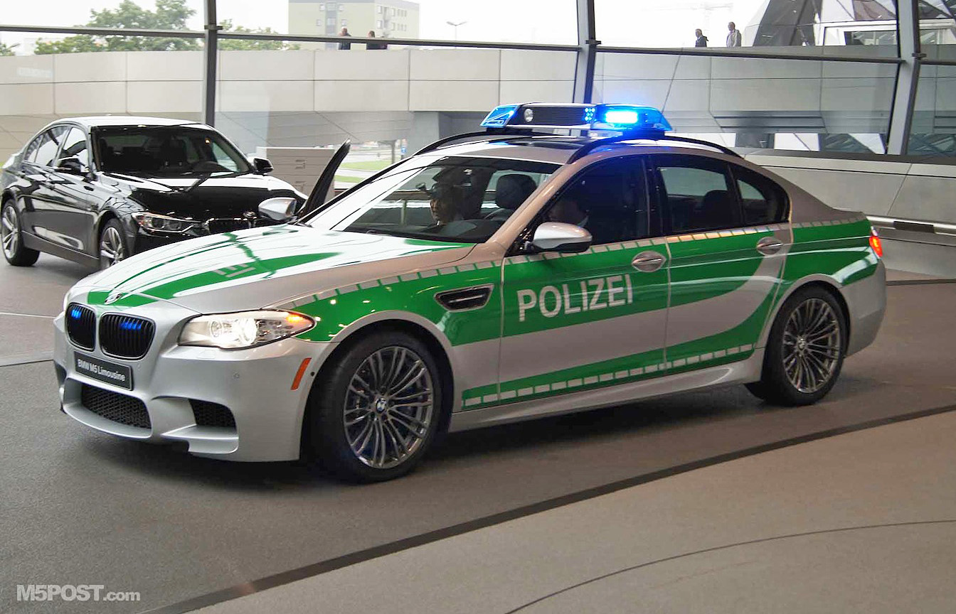 Bmw F10 M5 Police Car In Case You Missed It
