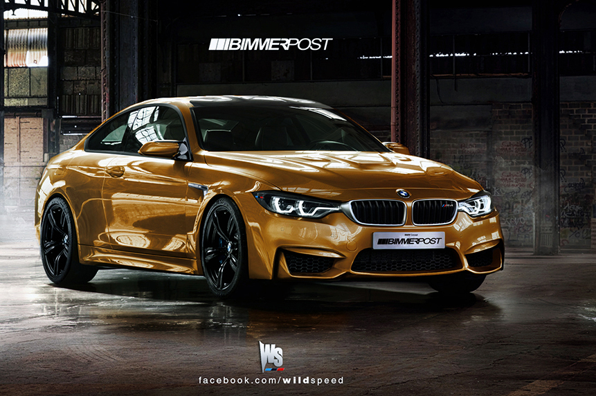 We Picture The Bmw M4 Coupe F82 Based On 4 Series Coupe
