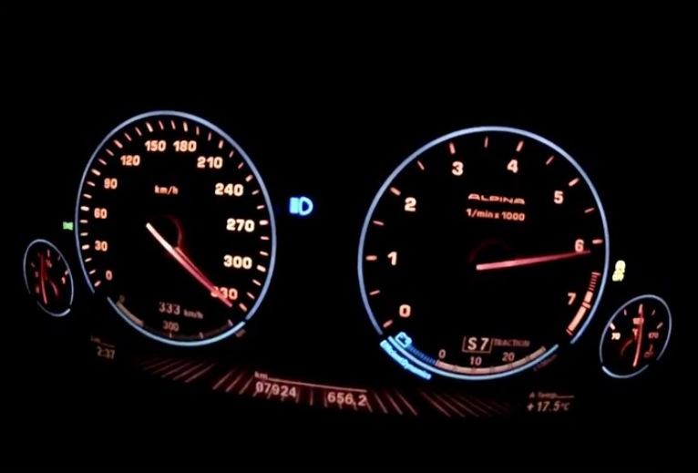 Alpina B6 Biturbo Top Speed Run Video