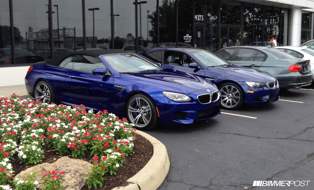 More Bmw Blues Compared San Marino Blue Vs Interlagos Blue