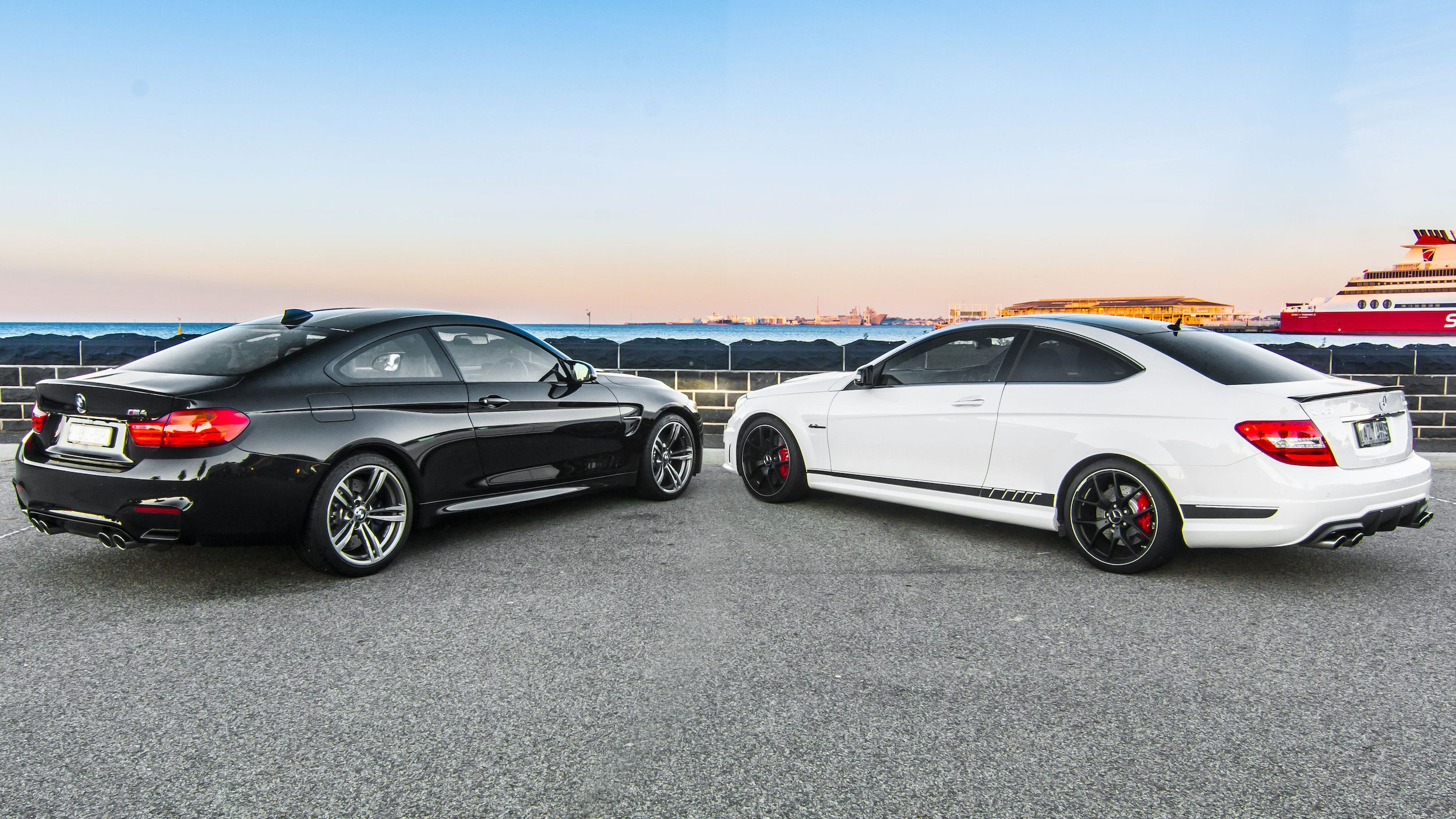 BMW M4 vs  Mercedes C63 AMG Edition 507 Comparison Review