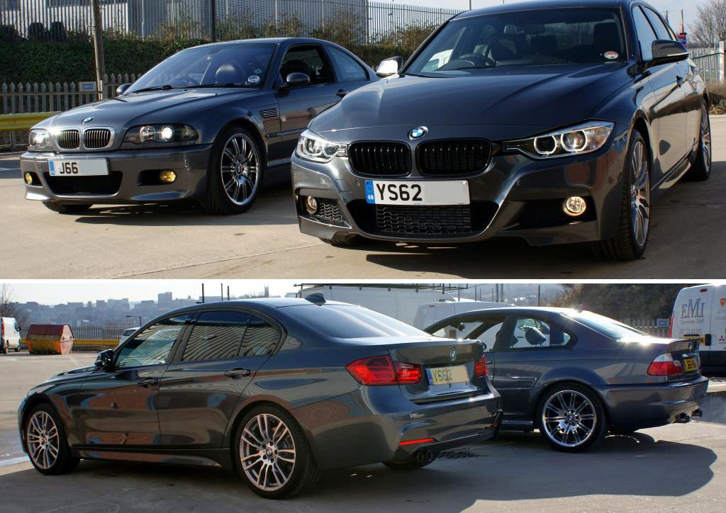 Mineral Grey 330d M Sport Vs Steel Grey E46 M3
