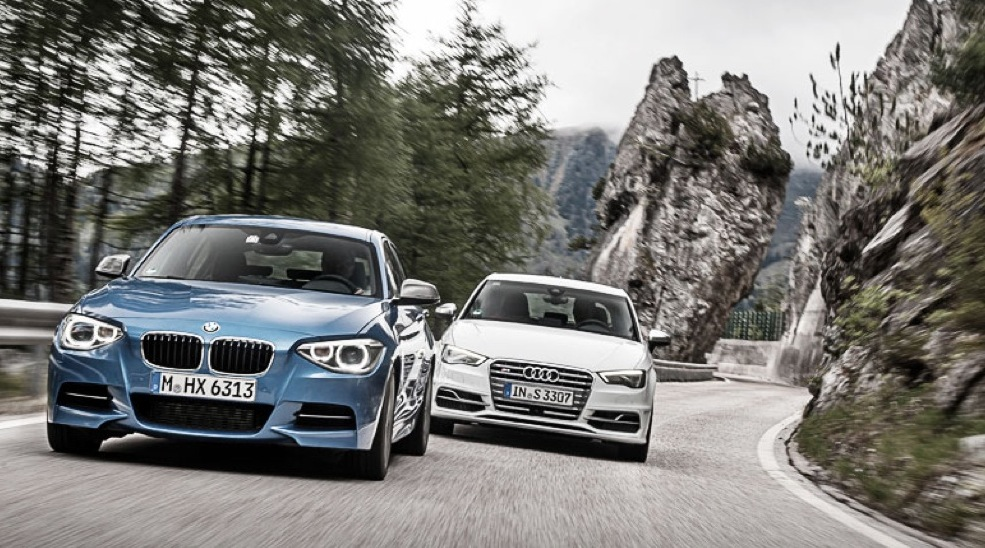 BMW M135i vs A45 AMG vs S3 Review by CAR