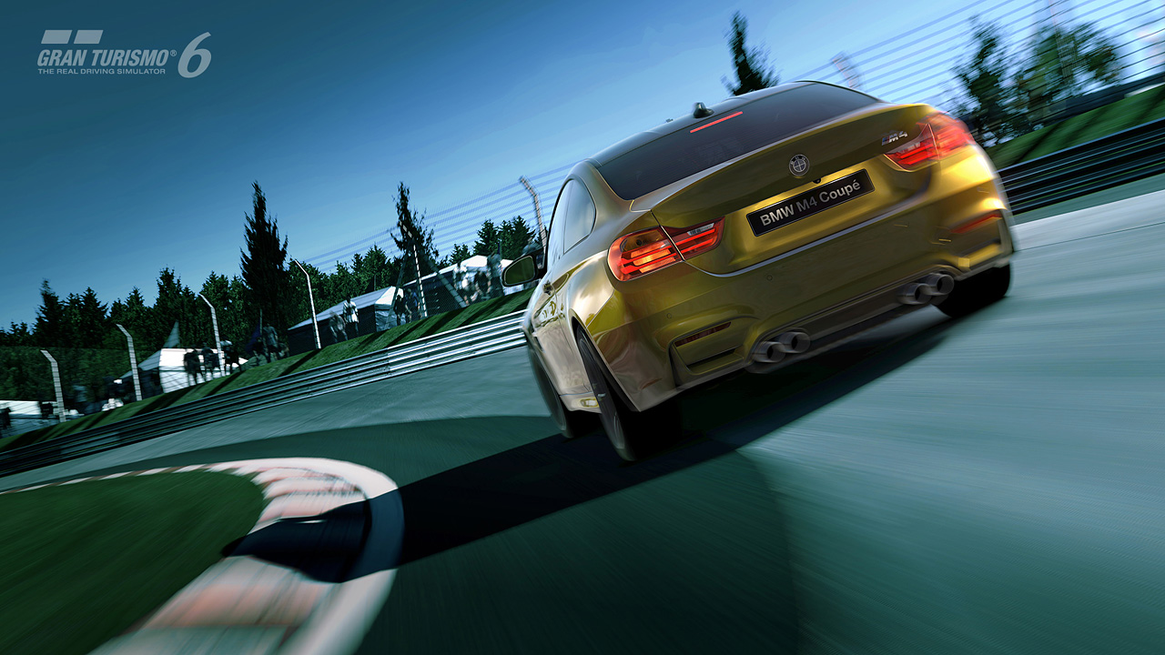 Bmw m4 coupe launches on gran turismo 6 w first drive video page 2