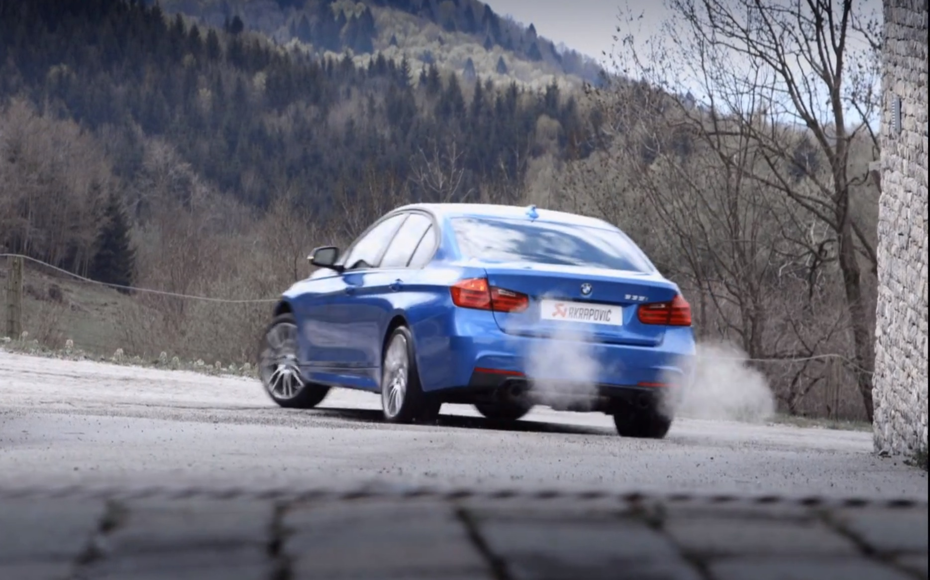 F30 335i akrapovic evolution exhaust system video feature
