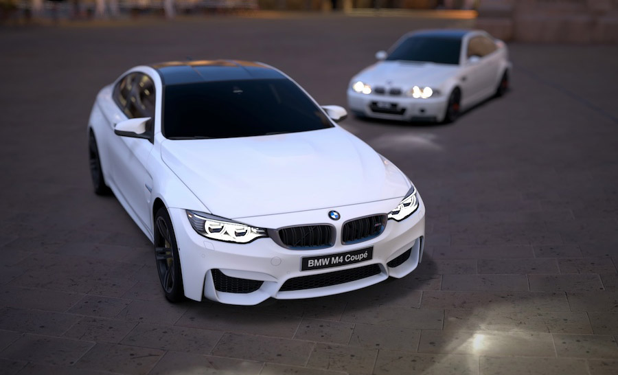 Bmw m4 f82 in alpine white gt6 pictures page 3
