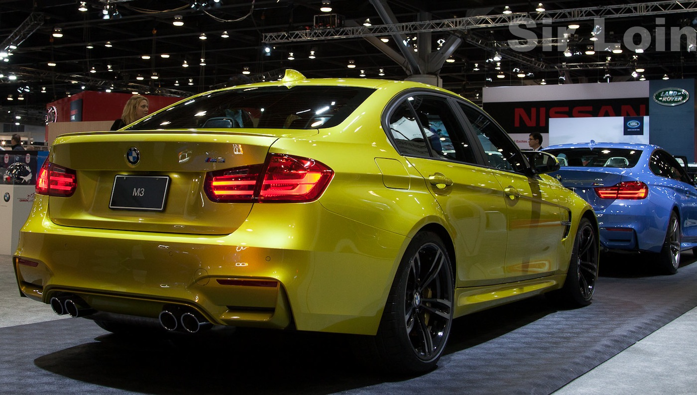 M3 And M4 At The Vancouver Auto Show 2014