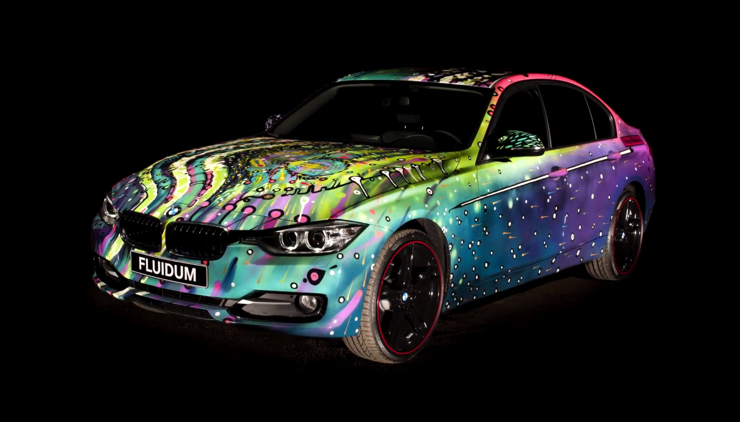 Bmw F30 3 Series Art Car Fluidum By Andy Reiben Page 2
