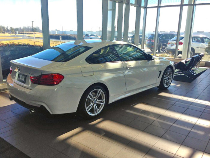 2015 bmw 435i msport autos post for Mercedes benz parts distribution center carol stream il