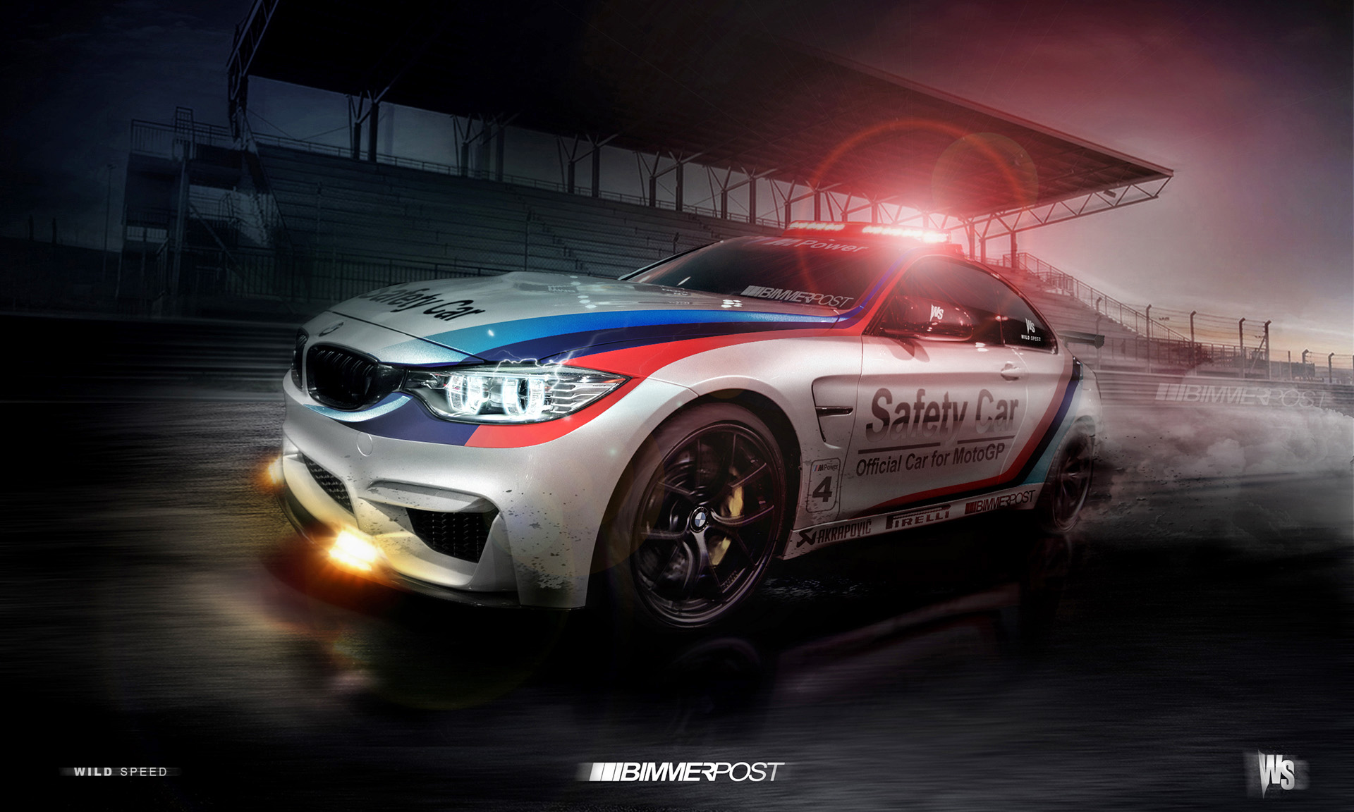 Bmw M4 Safety Car Digital Preview