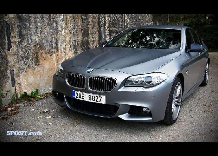first look at frozen gray f10 5 series (535i)
