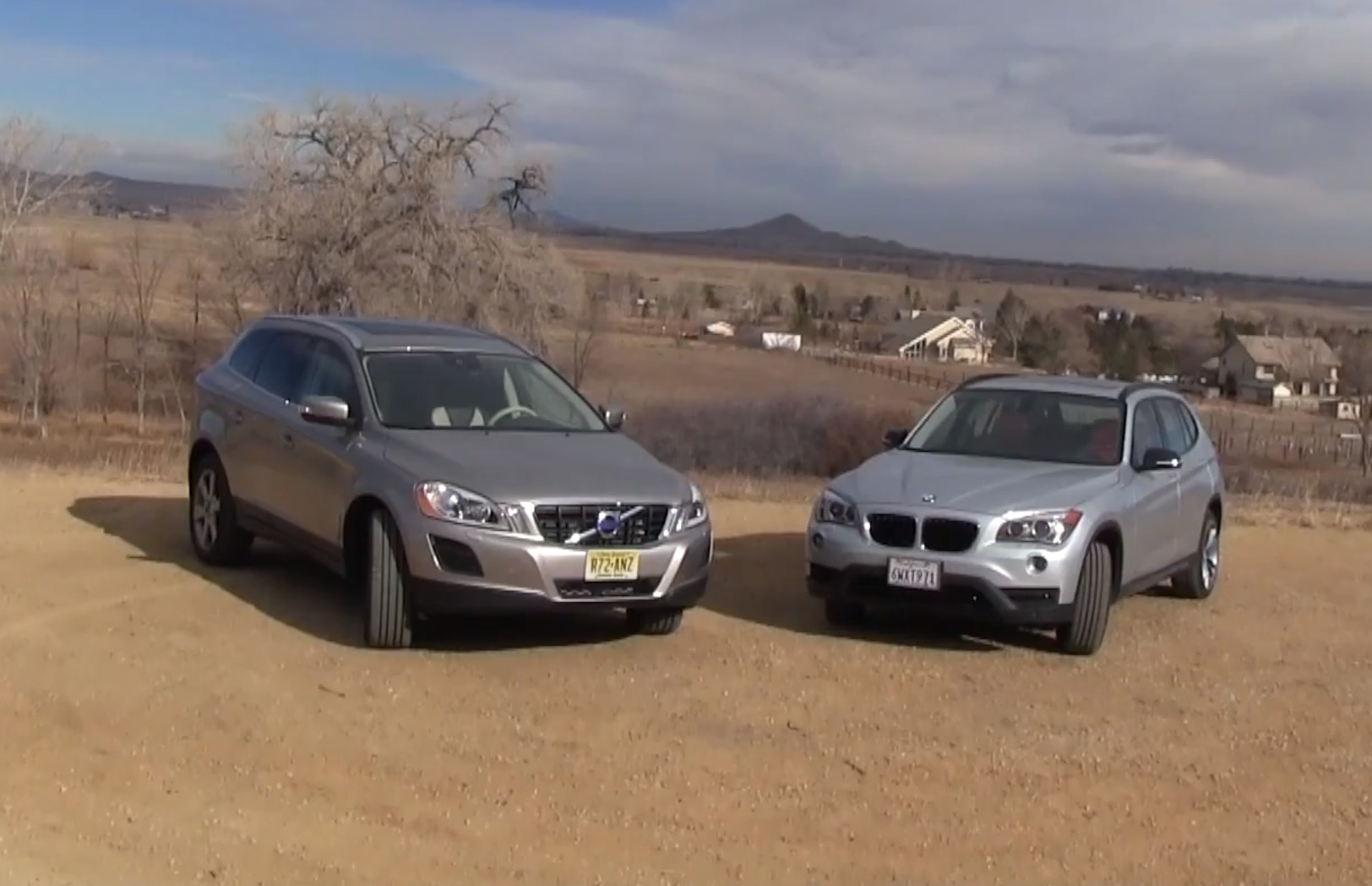 2013 Volvo XC60 versus BMW X1 0-60 MPH Review by TFLCAR