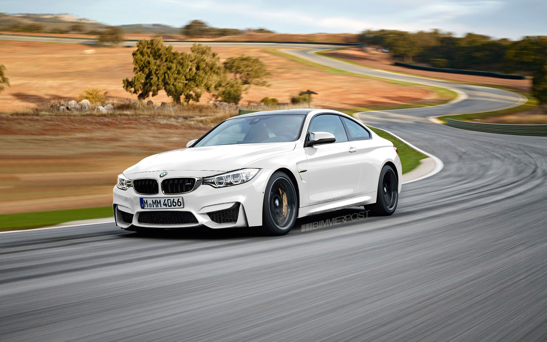 Rendered Bmw M3 M4 In Other Colors