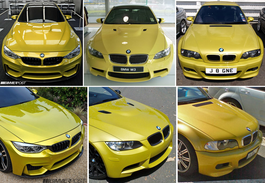 Exteriors Compared Bmw F82 M4 Concept Vs E92 M3 Vs E46 M3