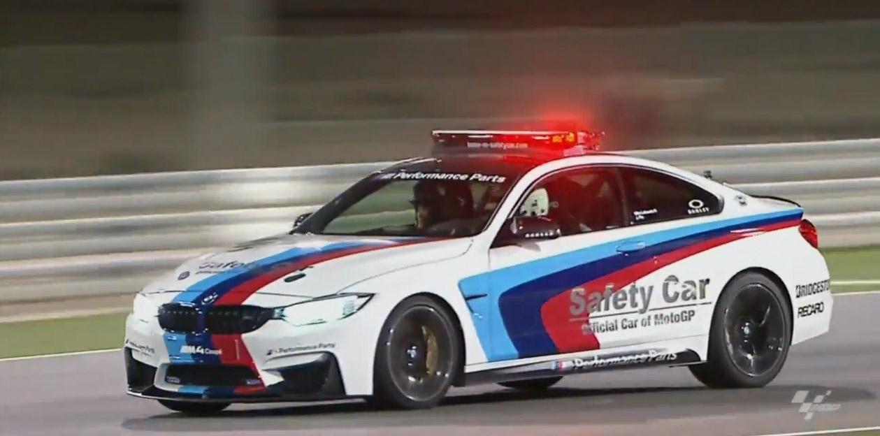 Bmw M4 Safety Car Videos From Qatar Motogp Race