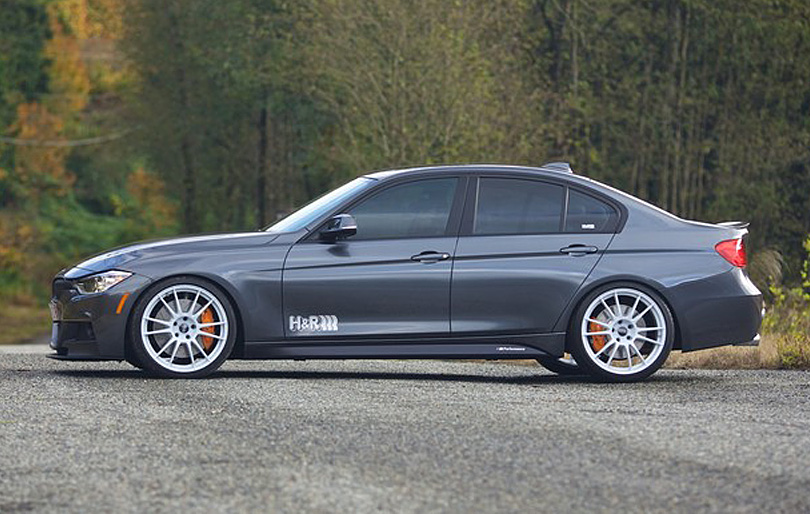 Project BMW F30 335i on Just Released H&R Coilover Suspension (Specs ...