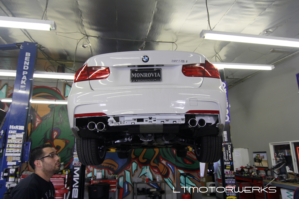 Remus Quad Exhaust On F30 328i