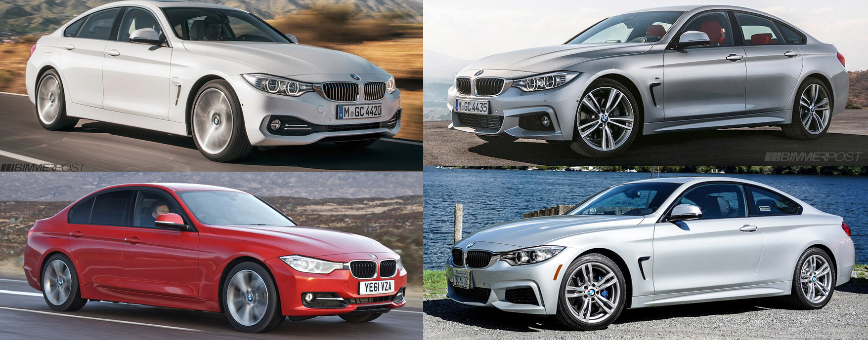 Comparo Bmw 4 Series Gran Coupe Vs 3 Series Sedan F30