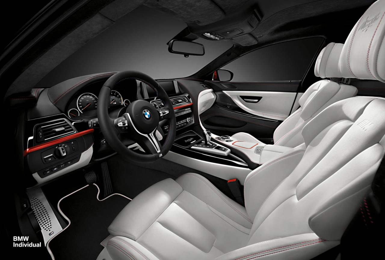 Bmw Individual One Off Bmw M6 Gran Coupe In Frozen Red