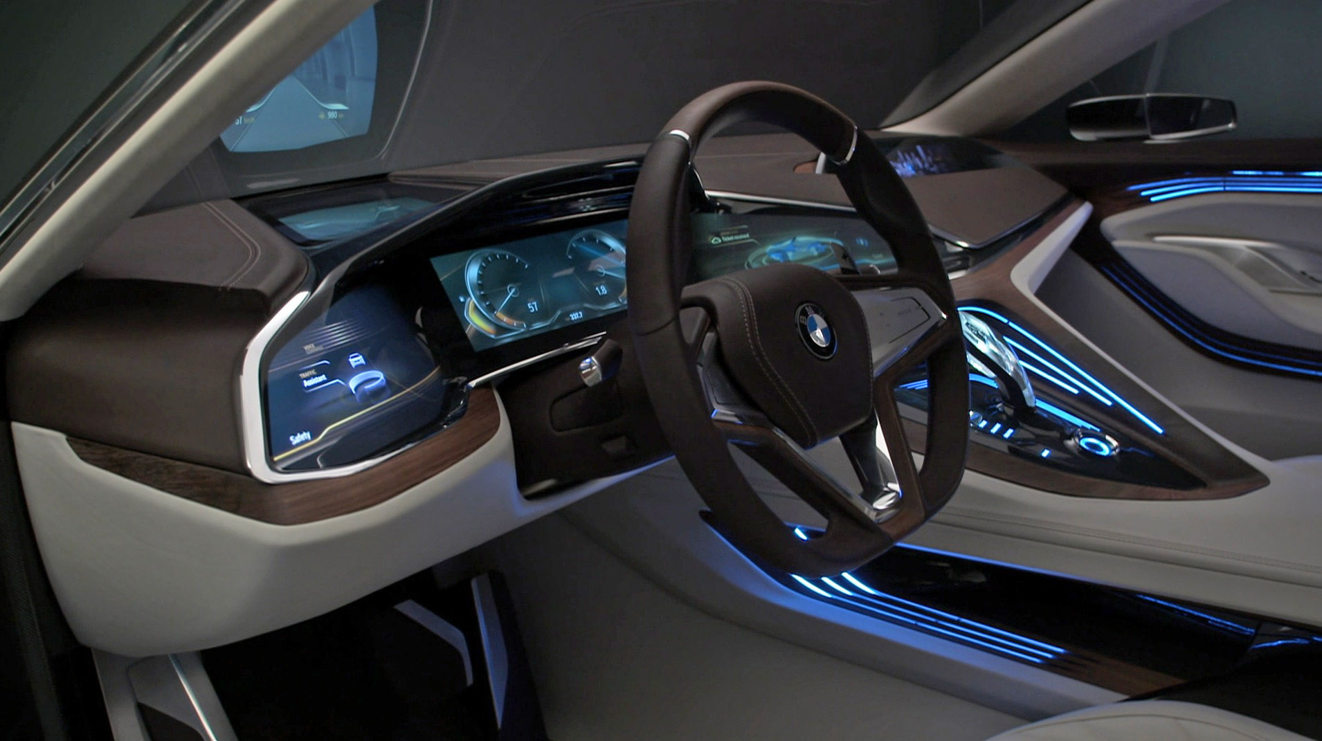 Bmw Concept Car Interior Cd E