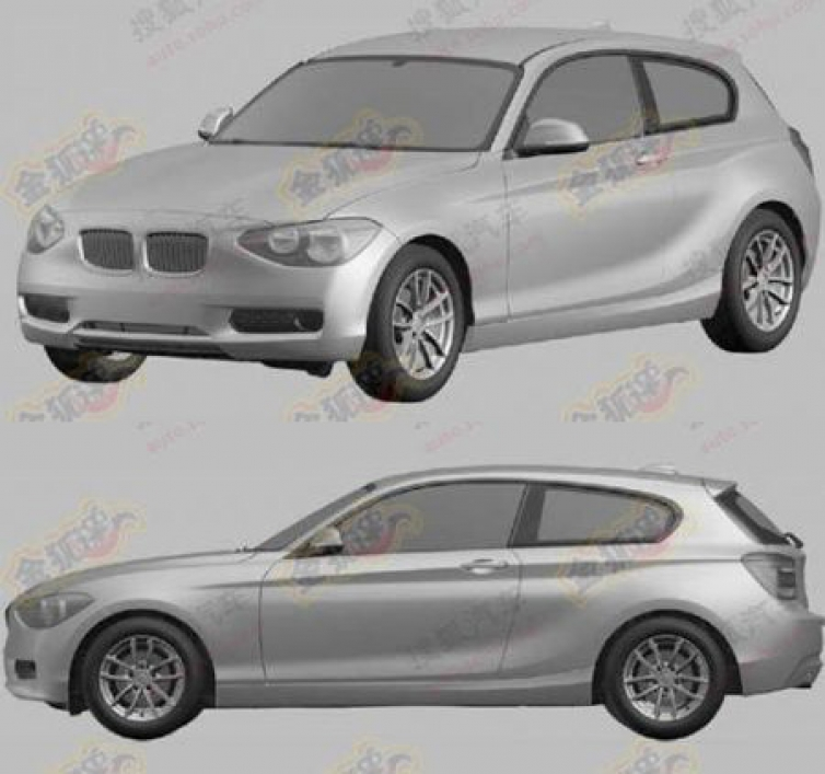 Bmw X7 2015: F21 1 Series 3-door Hatchback Revealed In Patent Images