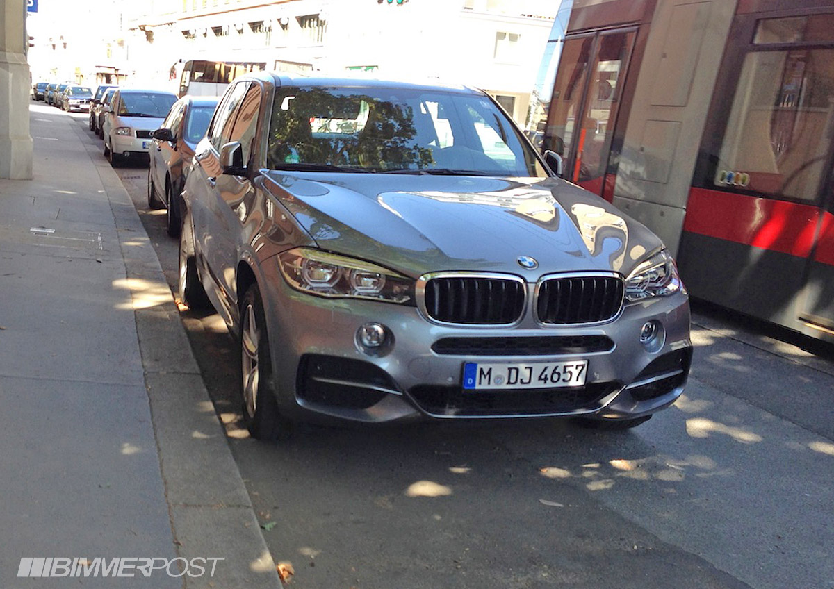 Bmw X5 Real Life Pictures M Sport In Space Grey