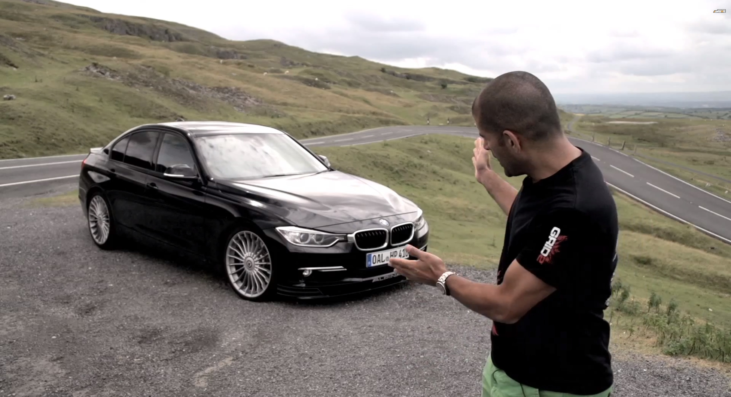 Chris Harris Tests The Alpina B F On Road And Track Page - Bmw alpina rims for sale